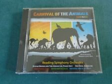 SAINT-SAENS CARNIVAL OF THE ANIMALS SEALED CD Reading SO Hofkes/ You-Chiung Lin