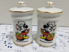 Mickey Mouse Salt and Pepper Shakers pair S&P Walt Disney