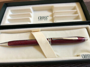Cross Townsend Garnet Red Ruby Lacquer Pen, New, Limited Edition, A1, Coll