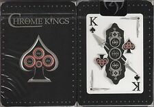 Chrome Kings Players Edition Cards Poker Size Deck USPCC Custom Limited Sealed