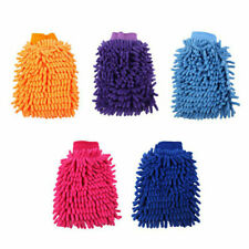 Double-faced Actinozoan Car Cleaning Glove for Chenille (Random Color) 3