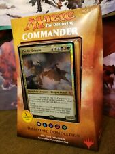 Magic the Gathering MTG Commander 2017  DRACONIC DOMINATION  NEW FROM CASE