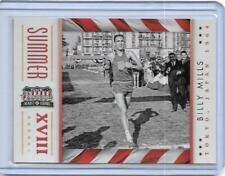 AWESOME 2012 PANINI AMERICANA BILLY MILLS CARD #2  OLYMPIC TRACK ~ RUNNING BRAVE