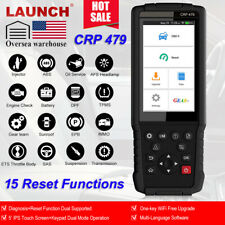 LAUNCH X431 CRP479 OBD2 ABS SRS TPMS Oil DPF Automotive Diagnostic Scanner