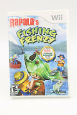 RAPALA'S FISHING FRENZY Nintendo Wii, 2008 with Manual USED UNTESTED VGUC T493