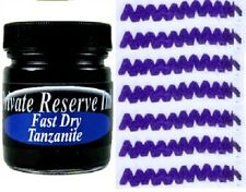 PRIVATE RESERVE - Fountain Pen Ink Bottle - TANZANITE FAST DRY -  66ml - New