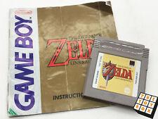 Video juego Nintendo Gameboy Vintage la leyenda de Zelda vínculos awakenin Con Manual