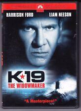 K-19: The Widowmaker DVD Harrison Ford Liam Neeson