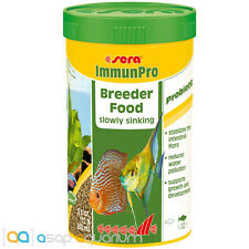 Sera ImmunPro Granules Probiotic Breeder Fish Food 250mL Freshwater Aquarium