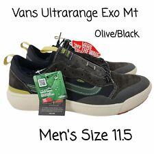 NEW Vans Ultrarange Exo MTE Black Olive VN0A4UUP2WK Skate Shoe Sneaker Mens 11.5