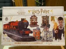 CubicFun Harry Potter 3D Puzzle Hogwarts Express and Diagon Alley 453 Pieces!