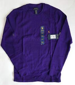 NWT!!Polo Ralph Lauren Men's Striped Waffle-Knit Pajama Shirt 6 Colors ( sale )