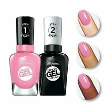 Sally Hansen Miracle Gel, Nail Polish Color + Gel Top Coat Duo 301/170 Pink