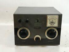 EF Johnson Viking KW Kilowatt Matchbox Vintage Ham Radio Equipment