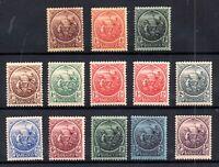 Barbados KGV 1921-24 sets A & B mint LHM WS17856