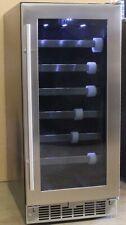 """Danby Silhouette 15"""" Built In 28 Bottle Wine Cooler Dwc031D1Bsspr Ga3"""