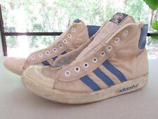 RARE Vintage German Adidas 3 Streifen 1 Top Ten Hi-Top mod hipster 70's sneakers