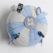 O.B Designs Sensory Tag Ball Blue -Soft Toy Felt Taggie Ball OB Baby Shower Gift