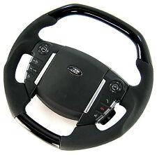 NEW design flat top Steering Wheel gloss Black Piano for Range Rover SPORT 2010