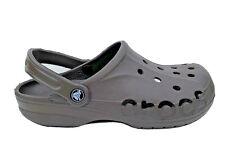 Crocs Baya Clog solid brown mens size US 7 comfort waterproof cushioned