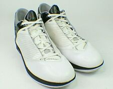 Nike Air Jordan 2009 White Silver Black Size 17 343084-161 Excellent s4