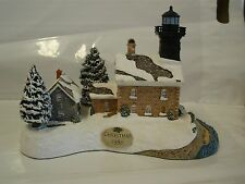 Harbour Lights Old Field Point Christmas Lighthouse Light House 1998 #707 707
