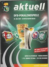 Orig.PRG   DFB Pokal   2008/09   FINALE   WERDER BREMEN - BAYER 04 LEVERKUSEN !!