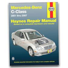 Haynes Repair Manual for 2001-2005 Mercedes-Benz C240 - Shop Service Garage bm