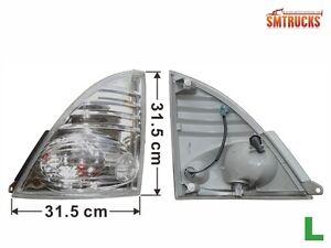 HINO 500 RANGER Lamp Corner TRUCK 2003 LH White Pro BN