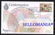 2014 III CENTENARIO REAL ACADEMIA ESPAÑOLA RAE EDIFIL 4847 ** MNH BOOKS  TC20643
