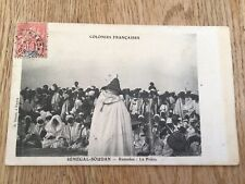 More details for  french colonies 1905 senegal  soudan stamps postcard ref 57361