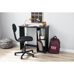 Writing Desk, True Black Oak Finish