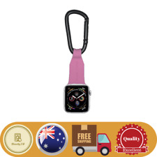 Apple Watch Band Fob Carabiner Clip - Pink Colour Fob