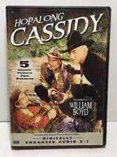 Hopalong Cassidy 5 Classic Feature Films Digitally Enhanced William Boyd
