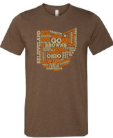 Cleveland Browns T Shirt BAKER MAYFIELD OHIO T Shirt Super Soft Shirt