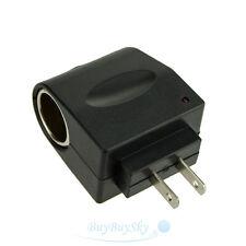 110V - 240V AC WALL Plug to 12V Car Charger DC Power Socket Converter Adapter US