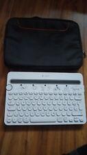 Logitech K480 kabellose Bluetooth-Tastatur für Computer, Tablet und Smartphone