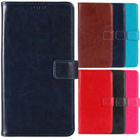 Premium Flip Book PU Leather Phone Case Stand Holder Skin Cover Wallet For Cubot