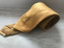 BRIONI TIE GOLD 100% SILK MADE IN ITALY