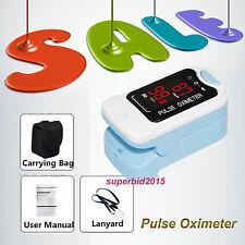 100% NEW Oxímetro de pulso LED Fingertip Pulse Oximeter spo2 monitor CMS50M