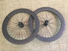 "DT Swiss 240s BMX Lightweight Carbon Rims 32 Spoke 20"" Bike Wheelset 1356g"