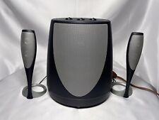 HARMAN KARDON Speakers & Subwoofer For Computer - Model HK695-01 Tested Works