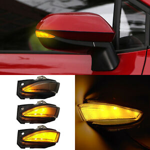 For Toyota Corolla Side Mirror Dynamic Turn Signals Sequential Lights 2019-2021