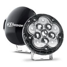 """Pair of 5.6"""" 55W LED Light Bar CREE Spot Flood Fog Lamp For Jeep UTV ATV Truck"""