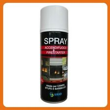 BOMBOLETTA SPRAY ACCENDI FUOCO RAPIDO PER CAMINI STUFE E BARBECUE 520 ml