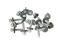 "1000 x 32mm TEK SELF DRILLING METAL ROOFING SCREWS TO WOOD, 8mm (5/16"") HEX HEAD"
