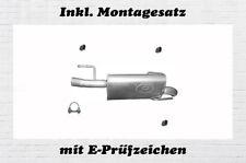 Opel Meriva A 1.7 CDTI Endschalldämpfer Auspuff Endtopf Montagesatz