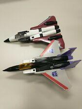 G1 Transformer Decepticon 2 Plane Lot - Incomplete