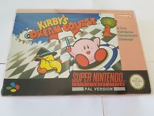 Kirby's Dream Course - SNES Super Nintendo - Boxed/complete PAL
