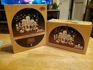 15 Piece Precious Moments Nativity Scene  1982